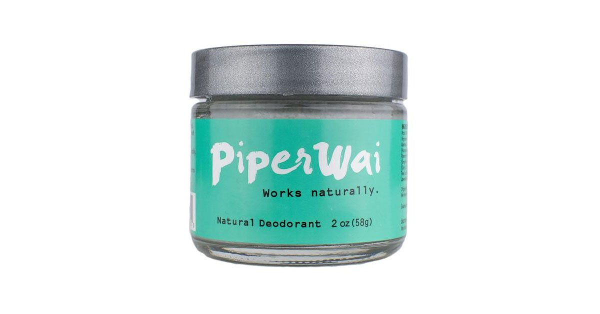 Piperwai - Natural Charcoal Deodorant Stick