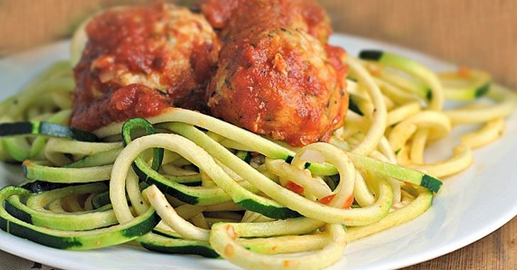 low oxalate meal plan-day 1-meatballs-and-zoodles
