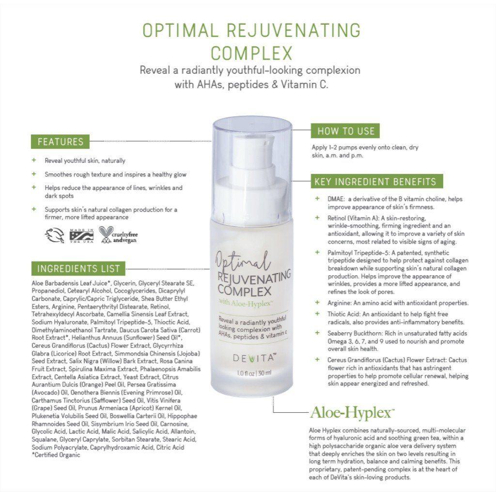 DeVita-Optimal-Rejuvenating-Complex-InfoGraph